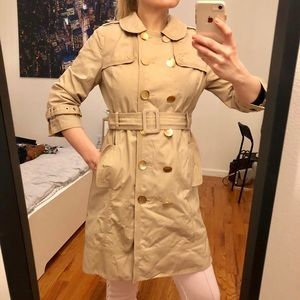 Juicy Couture Authentic Trench Coat